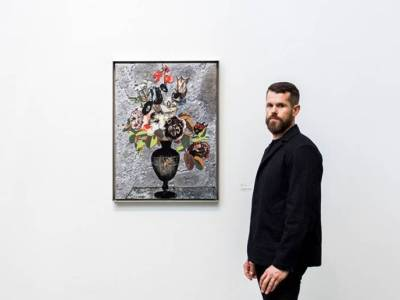 Matthew Day Jackson. Courtesy Hauser & Wirth. Photo: JJYPHOTO.
