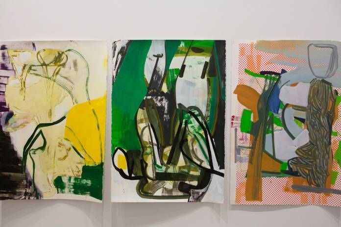 """Works from """"Twice Removed"""" at Gladstone Gallery in Manhattan, 2020. Credit: Calla Kessler for The New York Times"""