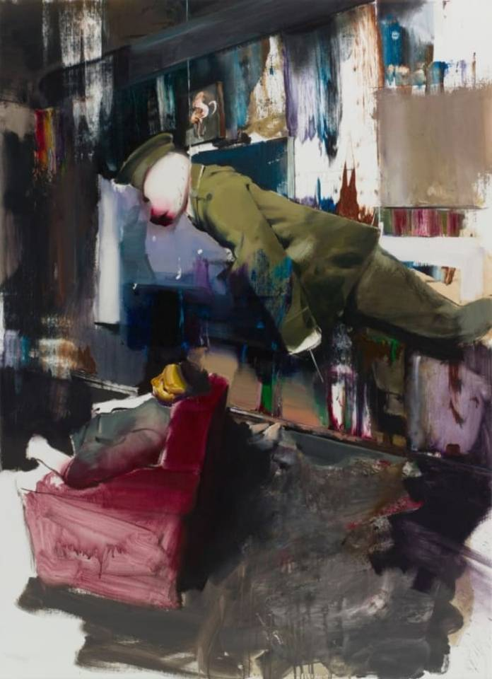 Untitled (Study for DADA Room), 2011- Adrian Ghenie. Photo: artbasel.com
