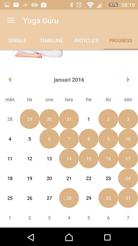 Yoga-januari