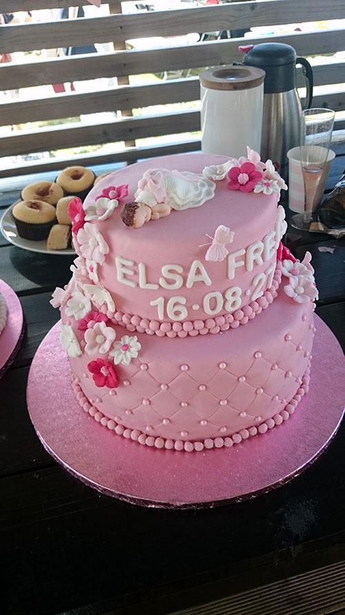 Tårta-rosa
