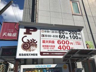 阪急長岡天神駅南 くるっとパーク