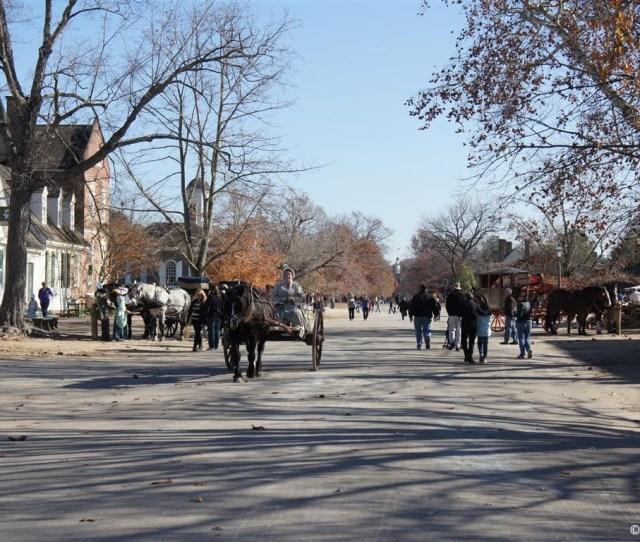 Colonial Williamsburg Duke Of Gloucester Street