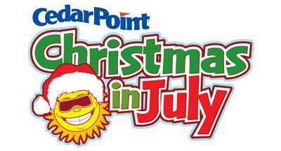 Cedar Point Sandusky OH Christmas In July Sale