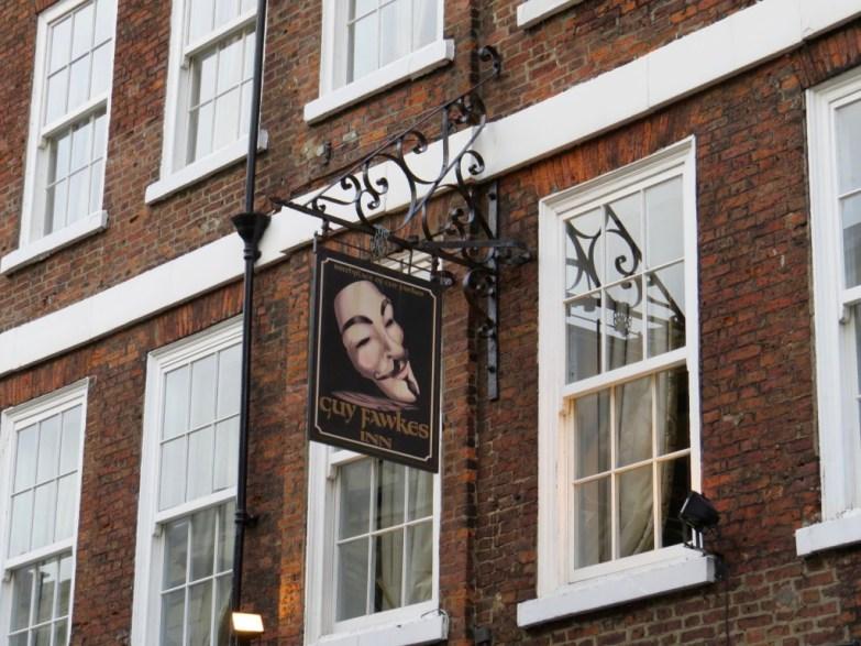 Guy Fawkes Inn pub