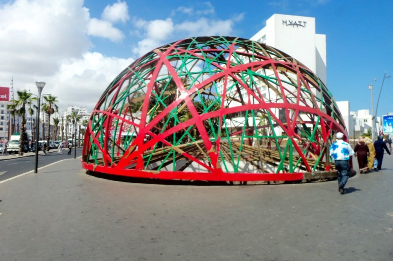 The Globe on United Nations Square, Casablanca