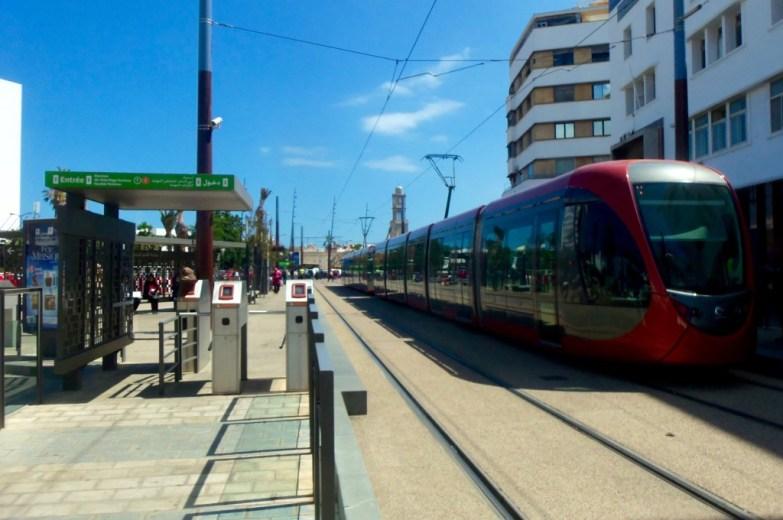 Casablanca's tramway