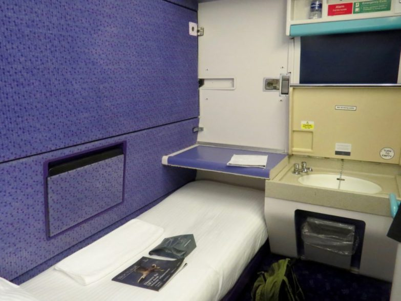 caledonian sleeper room
