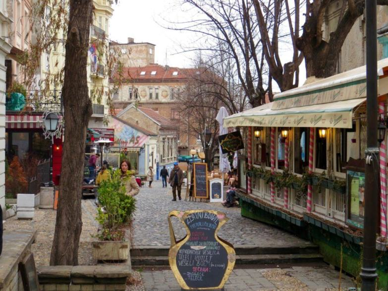 Skadarlja is Belgrade's bohemian street with many Kaffanas and restaurants.