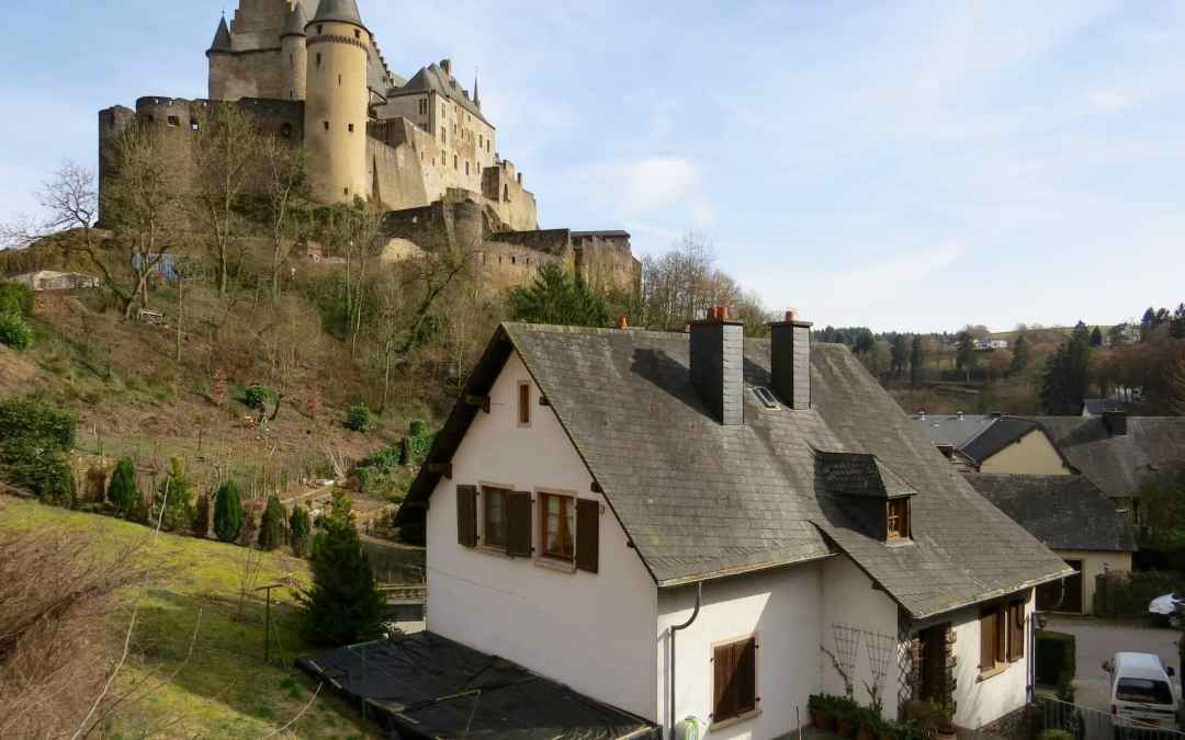 Day Trip to Vianden Castle in Luxembourg