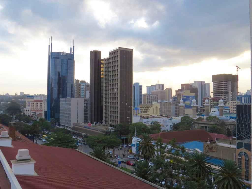 nairobi skyline