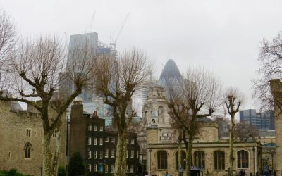Tower of London – An Iconic Fortress Among the City's Skyscrapers