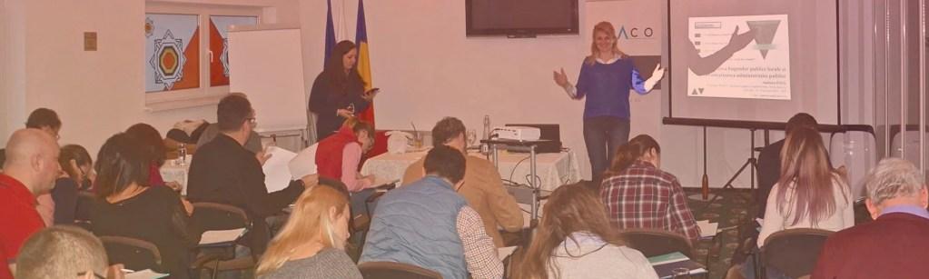 Training INACO: Credibilitatea și performanța bugetelor publice locale