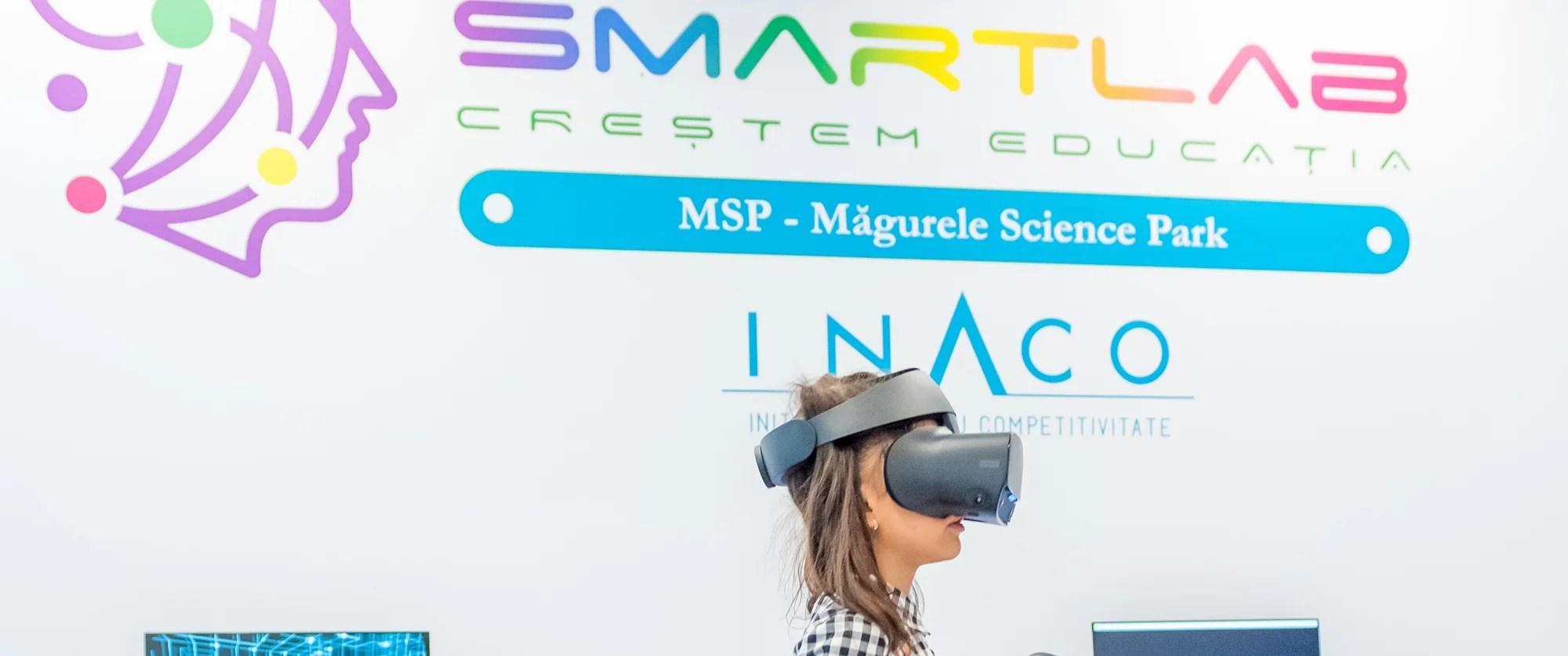 S-a lansat SmartLab Măgurele – Primul laborator digital inteligent din judeţul Ilfov