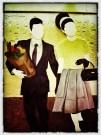 Everyday 1950s couple