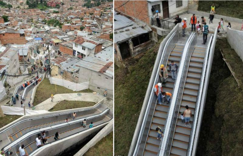 1 32 Ada yang Panjangnya 1 Km, Ini nih 8 Eskalator Paling Unik di Dunia. Pasti Kamu Belum pernah Lihat