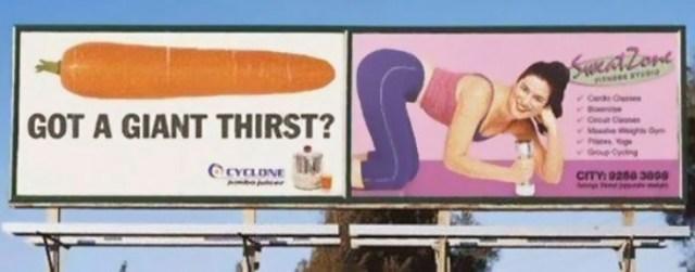 1 4 7 Iklan ini penempatannya kurang pas, hasilnya bisa bikin mikir yang aneh aneh