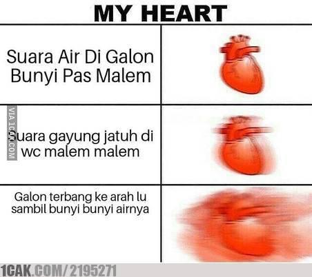 2 18 10 Gambar Meme Kondisi Jantung ini bikin Kamu Ngakak aja Liatnya