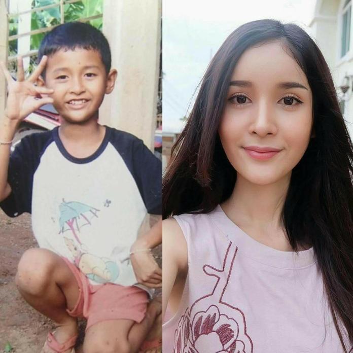 2 32 10 Foto Perubahan Transgender dari Cowok ke Cewek ini Bikin Kaget! Mau Liat