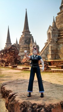 Rosie, Queen of the Ancient Royal Palace, Ayutthaya.