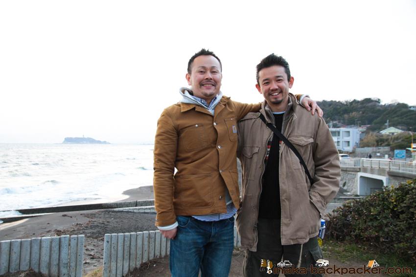 樹ガーデンで語る 中川生馬と村尾茂雄