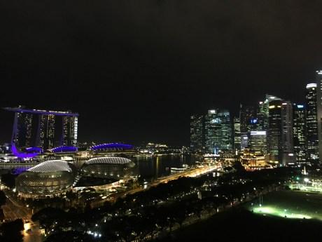 シンガポール 夜景