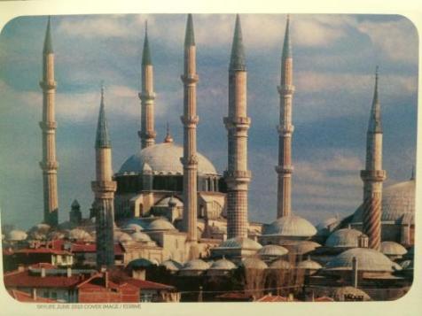 Reff #1366- Selimiye Mosque, Edirne, Turkey (From Dugdyu)