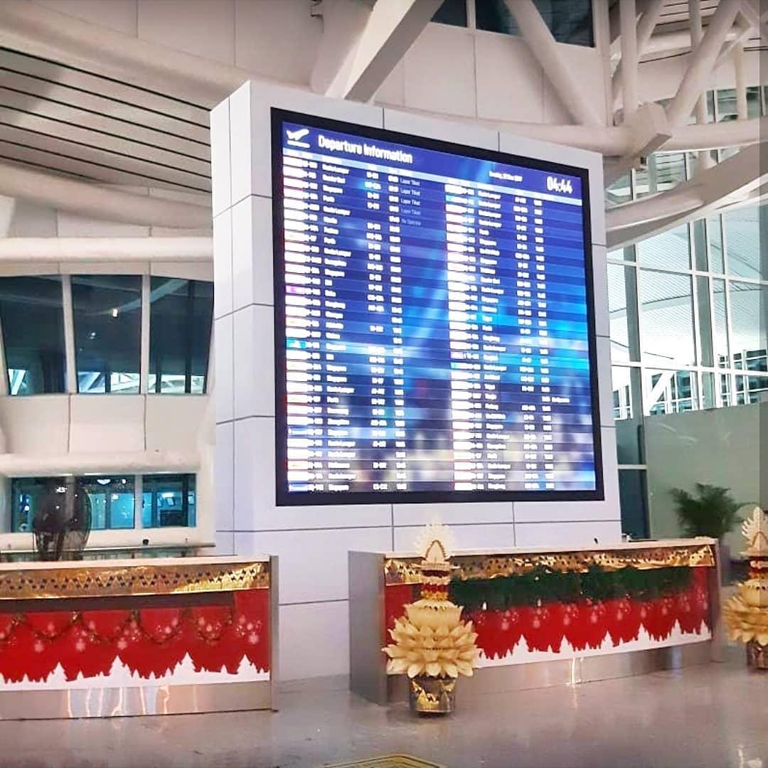 Ngurah Rai International Airport - FIDS Upgrade