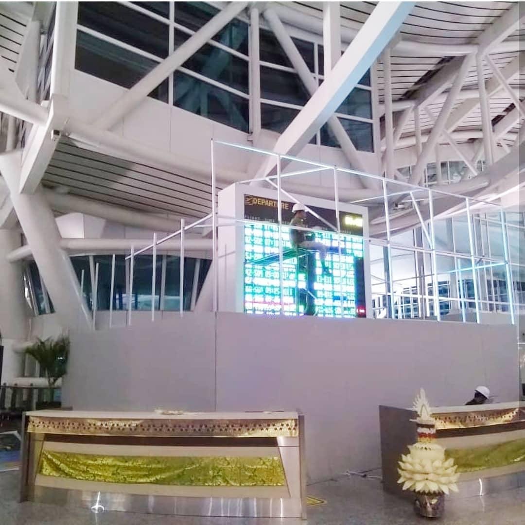 Ngurah Rai Airport LED FIDS - Upgrade by Inalix