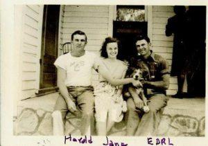 "Photo courtesy of John Lee. ""Earl with Siblings"""