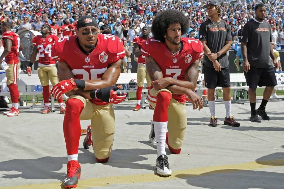 """Featured image for """"Colin Kaepernick and the Professional Cost of Protest"""""""