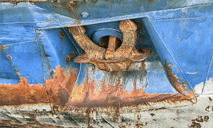 Corrosion causing factors on ship
