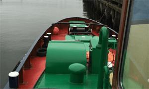 Peralatan yang terdapat di kapal tugboat