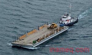 Proses towing kapal