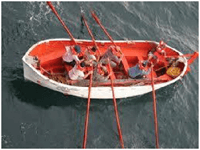Sekoci (life boat)