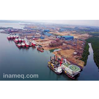 Shipyard in Indonesia