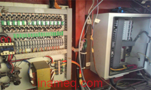 Electrical equipment installation in ship