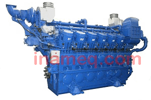 Yuchai Dual-fuel engine for marine