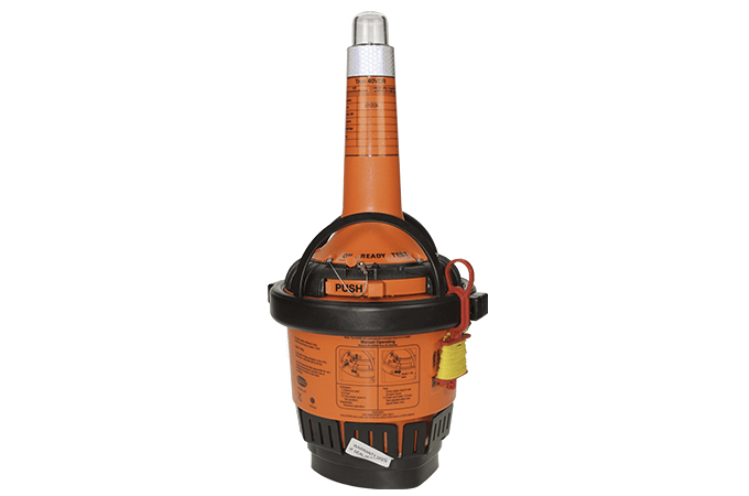 EPIRB-TRON 40VDR CAPSULE WITH BRACKET