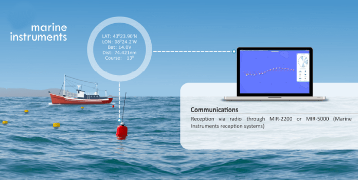 GPS radio buoy - marine instrument