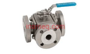 Marine Ball Valves type Three-Way L-Ported Stainless Steel Ball Valve