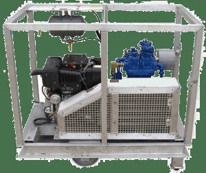 Quincy 325 Low Pressure Diesel Air Compressor 18.7cfm at 175 psi