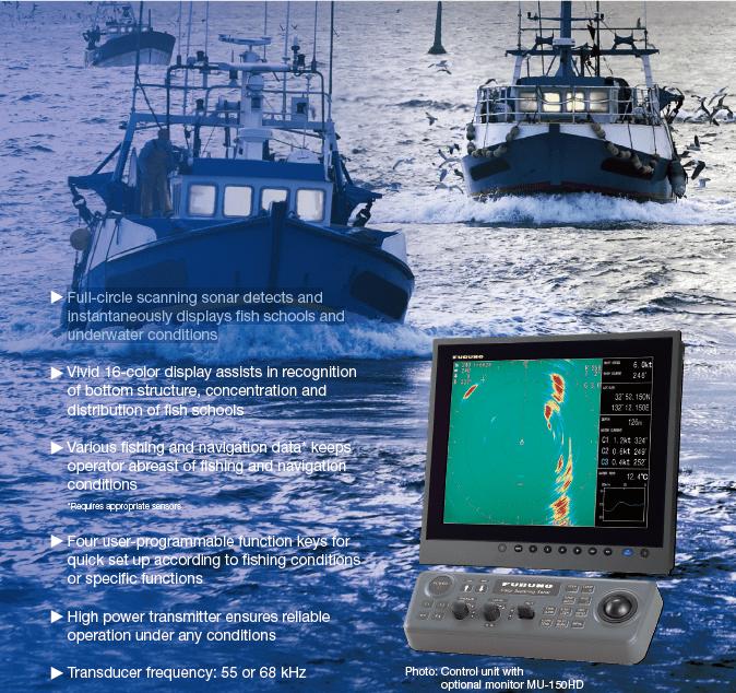 CSH-5L MK2 Scanning Sonar