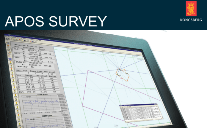 ACOUSTIC POSITIONING OPERATING STATION SURVEY