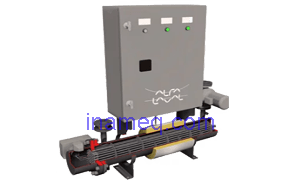 Electrical water heater for engine jacket cooling water