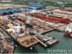 Shipyard facilities for ship repair