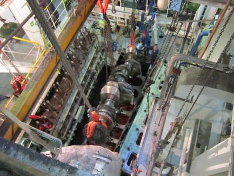 Marine Engine Breakdown After Repairs