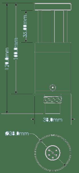 Sound Velocity For Marine Type UltraSV Drawing