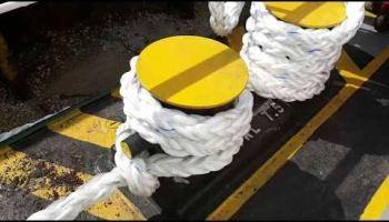Roll in shipyard