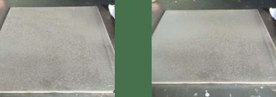 Gambar 6. Tekanan 4 bar waktu 10 detik (Sa 2) dan waktu 15 detik (Sa 2,5)